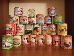 Canned mea