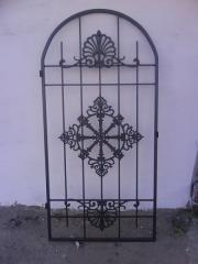 Gate on mazar from stainless steel