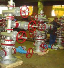 Armature heat-resistant steam ATPK-100-2,4-220