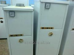 Heating gas coppers of MIMIX