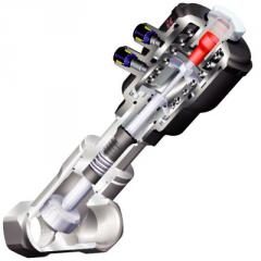 Gate-type pneumatic valve of Stevi AS - mit