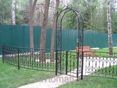 Dekoratif bahçe çitleri
