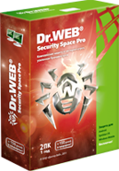 Anti-virus software of Dr. Web Security Space Pro.