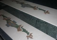 Porcelain tile for pools