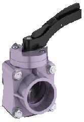 Plastic rotary lock K 016