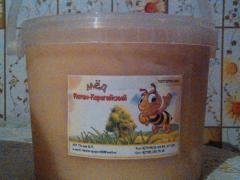 Honey from a serpukha venchenosny, the onions