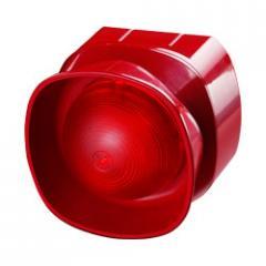 Светозвуковой оповещатель с несколькими тональными сигналами для открытых площадей