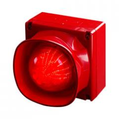 Светозвуковой оповещатель с несколькими тональными сигналами для открытых площадей с защитой от атмосферных воздействий