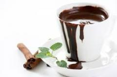 Hot chocolate, mix for preparation of hot milk