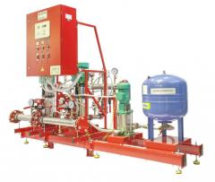 Автоматические установки пожаротушения