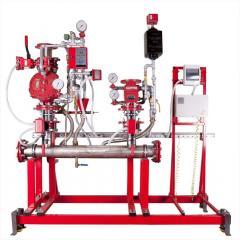 Installations of water alarm Sprut-KS valves