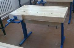 The workbench is joiner's educational