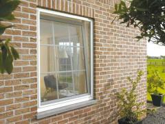 Fixture for metalplastic windows