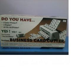 Резак для визиток Cardmate  54*85мм