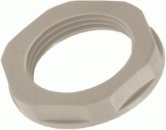 Контргайка для кабельных вводов серая армированная
