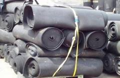 Rubber covering for warehouse, the warehouses