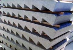 Steps are reinforced concrete