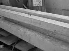 Racks are reinforced concrete