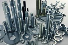 Крепежные изделия металлические промышленные