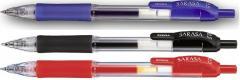 Gel pen, Zebra, Sarasa, 0,5mm-0,7mm