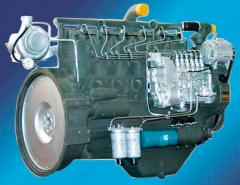 The diesel engine for the truck crane