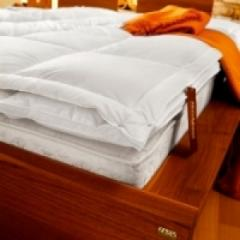 Mattress cover of down