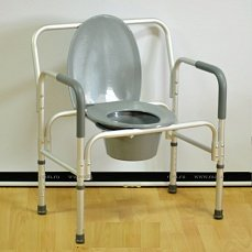 CHAIR - THE CHAIR WITH SANITARY EQUIPMENT OF