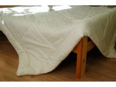 Одеяло из овечьей шерсти двуспальное свро...