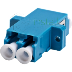 Adapter optical duplex LC/UPC