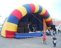 Inflatable scenes