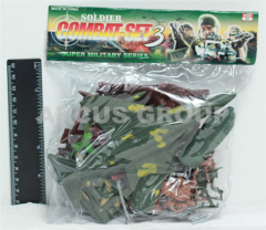 Set soldiers, the plane, the tank, in a package
