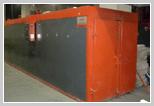 Deadlock furnaces of polymerization