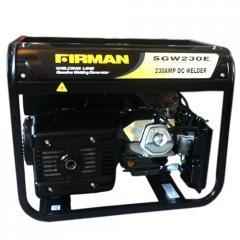 Бензиновый генератор 5 кВт Firman SGW 230E для сварки