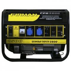 Бензиновый мини генератор 2.5 кВт FIRMAN FPG...