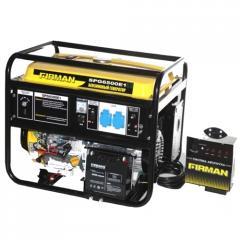 SPG6500E1+ATS gasoline-driven generator