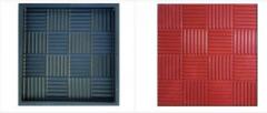 Форма для тротуарной плитки Паркет 300х300х30