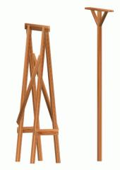 Подпорка деревянная
