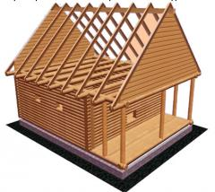 Rafter without nails