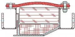 Strip compensator of 1.001 type