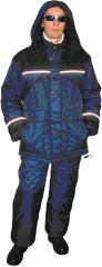 Suit winter Mont Blanc