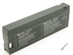 The LCT-1912ANK rechargeable battery for Nihon Kohden ECG