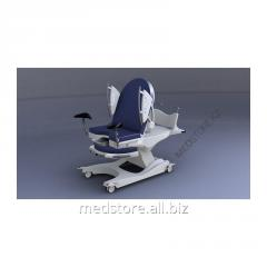 Chair-bed for obstetric aid of STORK