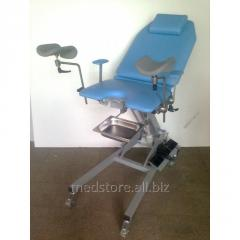 Chair gynecologic electromechanical Zerts