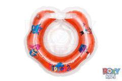 Надувной круг на шею для плавания малышей Flipper
