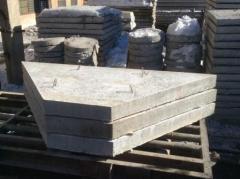 Reinforced concrete Plates prigruzochny P3-R
