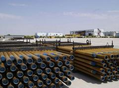 Fiberglass linear pipes