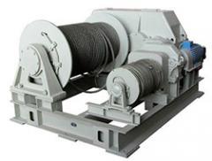 Лебедка тяговая электрическая TOR