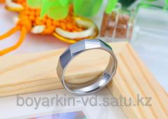 Ring from tungsten