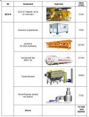 Завод асфальто-бетонный мобильный QCS-8