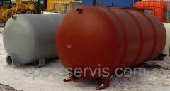 Цистерна КО-520.41.01.000 бочка на ассенизатор, вакуумная машина